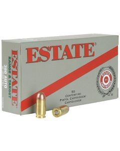 Estate Range Ammo .380ACP - ESH38095
