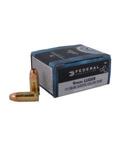 Federal Personal Defense 9mm ammunition - C9BP
