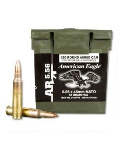 Federal American Eagle XM193 - 120 Rounds - XM193LPC120