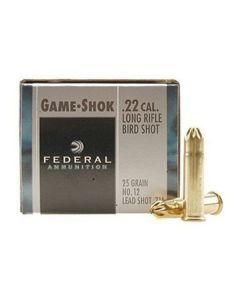 Federal Game-Shok 22lr Ammo No. 12 Shot Shell