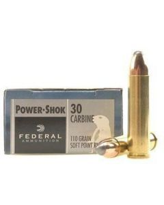 Federal Power-Shok .30 Carbine - 30CA