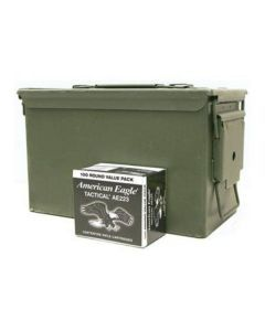 Federal AE223 223 Ammo - 1000rd Case in 50cal Ammo Can