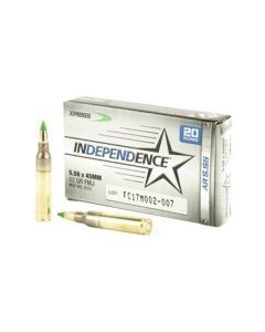 Federal Independence XM855 5.56 20-Round Box