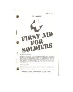 First Aid For Soldiers Manual