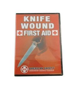 Knife Wound First Aid DVD - Front Cover