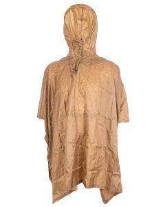Fox Outdoors Rip Stop Poncho - Coyote