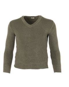 French Army OD Wool Sweater