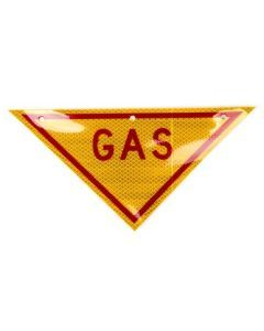 Gas Hazard Warning Sign