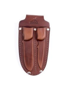 Gerber Leather Double Knife Sheath