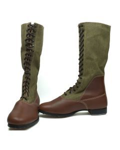 German Repro WWII Afrika Corps Tall Boots