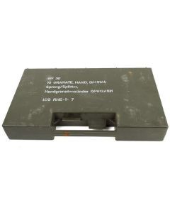 German Army Grenade Storage Box
