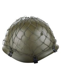 German Army Helmet Net with Clips