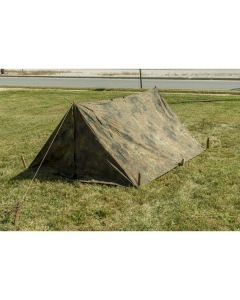 German Army Pup Tent - Rear View
