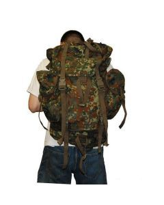 German Flecktarn Combat Rucksack – Authentic German Military Issue Rucksack