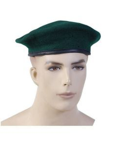 German Green Wool Beret