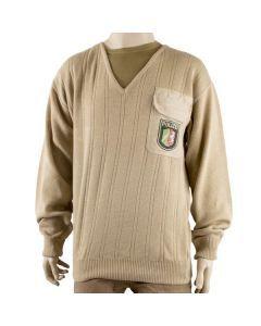 German Police V-Neck Sweater