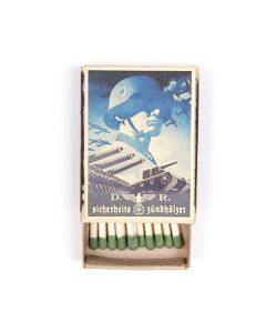 Vintage German Blue SS Matchbox