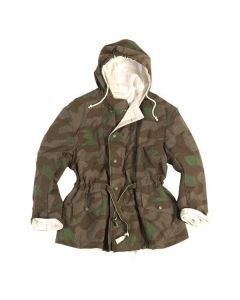 WWII German Reversible Splinter Camo Field Jacket