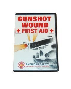 Gunshot Wound First Aid DVD - Front Cover