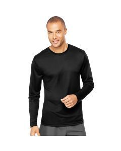 Hanes Cool Dri Performance Long Sleeve Tee - Black