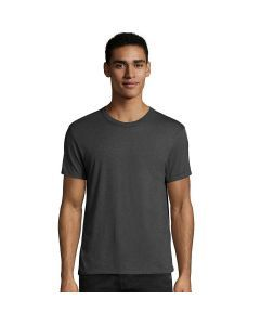 Hanes Elevated Tee T-Shirt - Black Heather Triblend