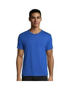 Hanes Elevated Tee T-Shirt - Royal Triblend