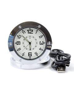 Hidden Travel Clock Camera with DVR