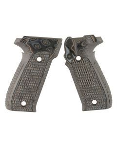 Hogue Sig Sauer P226 Piranha Grips - G-Mascus - Black/Gray