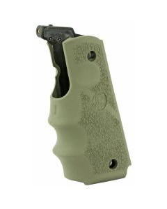 Hogue 1911 Colt Government Laser Grip - OD Green