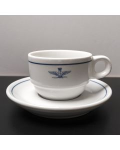 Italian Air Force Espresso Set - Includes Cup and Saucer