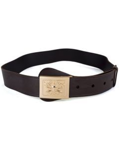 Italian Army Leather Parade Belt