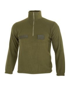 Italian Army OD Fleece Sweater