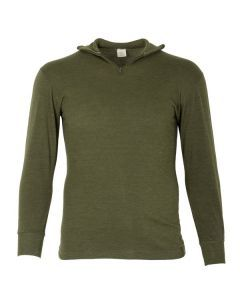 Italian Army OD Green Wool Blend Shirt