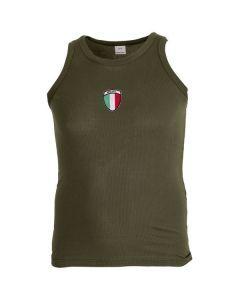Italian Army OD Tank Top
