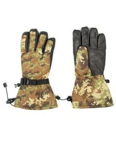 Italian Army Winter Gloves - Vegetato Camouflage