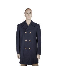 Italian Navy Wool Peacoat