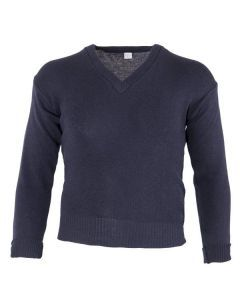 Italian Navy Wool Sweater