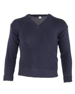 Italian Navy Wool Sweater