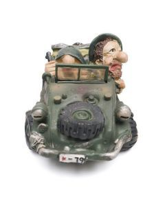 Jeep Bank - Military Piggy Bank