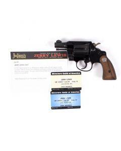 Jerry Lewis Colt Agent Revolver