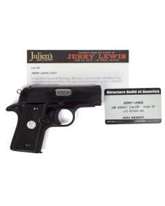 Jerry Lewis Colt MkIV Series 80 Mustang Pistol with COA and DGA Membership Card