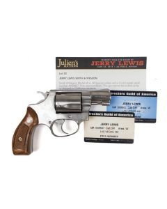 Jerry Lewis Smith and Wesson Model 60 with 2003 and 2004 DGA Membership Cards