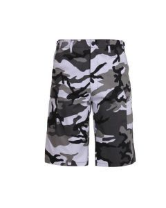Long Length Camo BDU Shorts - City Camo