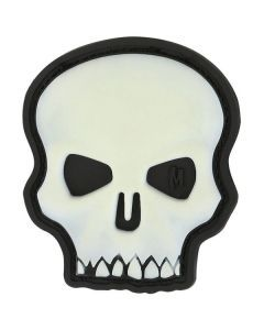 Hi Relief Skull Morale Patch - Glow in the Dark