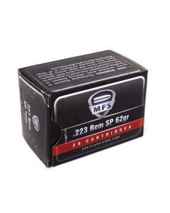 MFS .223 62gr Soft Point Ammo - 20025