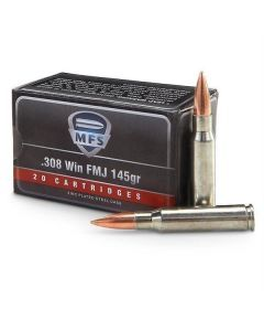 MFS .308 Full Metal Jacket Ammo - 20045