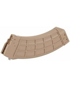 US Palm AK-47 30 Round Magazine with Steel Cage - FDE