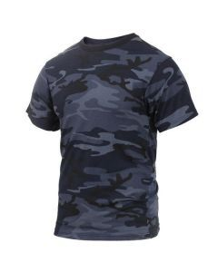 Midnight Blue Camo Shirt