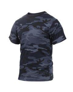 Midnight Blue Camo Shirt