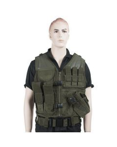 Mil-Tec USMC Combat Vest with Belt and Holster